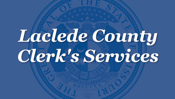 Laclede County Clerk's Services