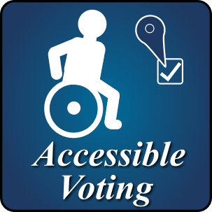 Accessible Voting Button