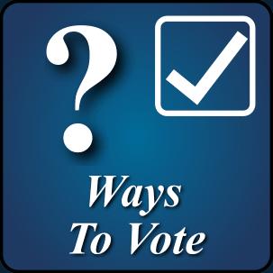 Ways to Vote Button