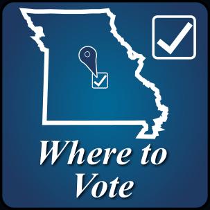 Where to Vote Button